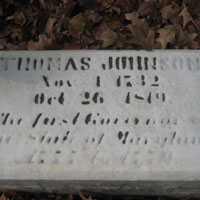 Frederick Thomas Johnson Grave